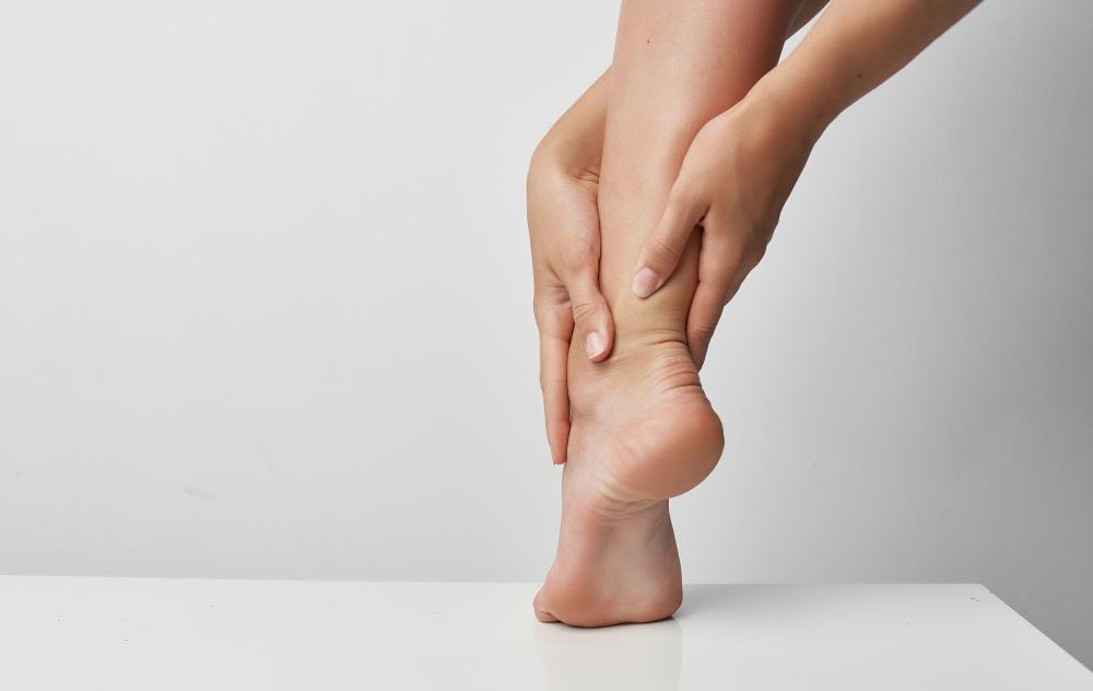 trauma bandaged feet health problems medicine treatment