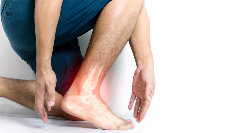 inflammation bone ankle humans with inflammation